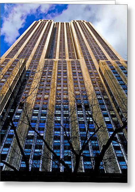 Empire State Building Greeting Card by Patrick  Flynn
