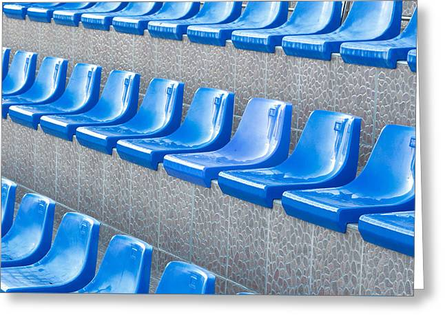 Empty Seats Greeting Card