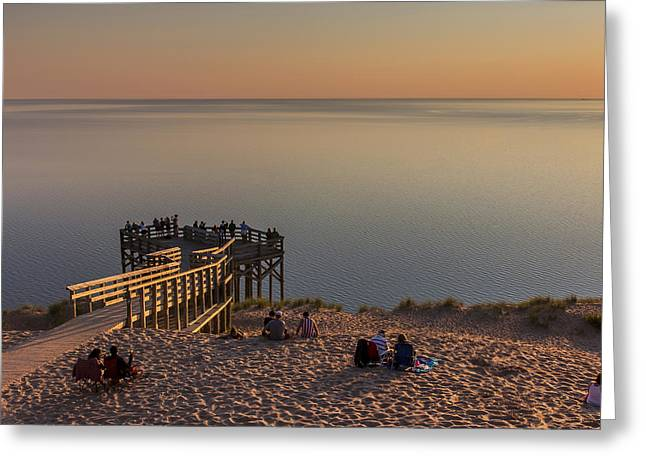 Enjoying The View Greeting Card by Twenty Two North Photography