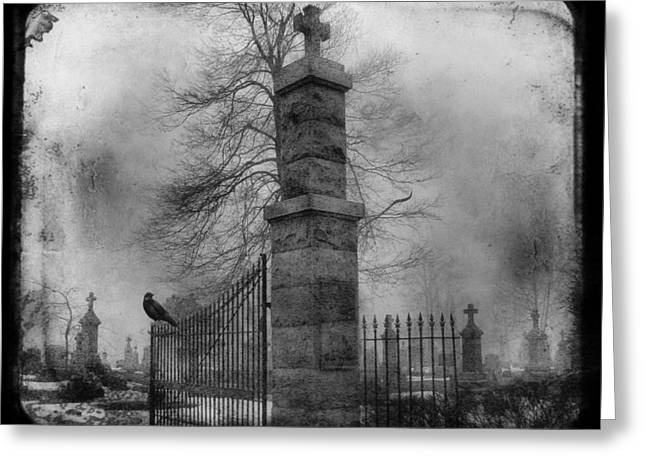 Entrance Greeting Card by Gothicrow Images