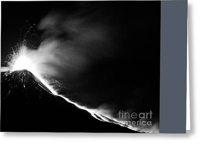 Etna, The Volcano Greeting Card