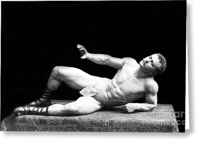Eugen Sandow, Father Of Modern Greeting Card by Science Source