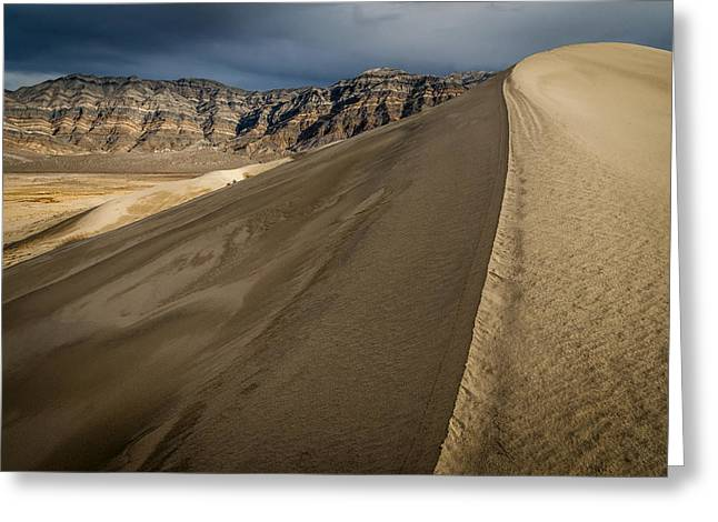 Eureka Dunes Greeting Card by Cat Connor