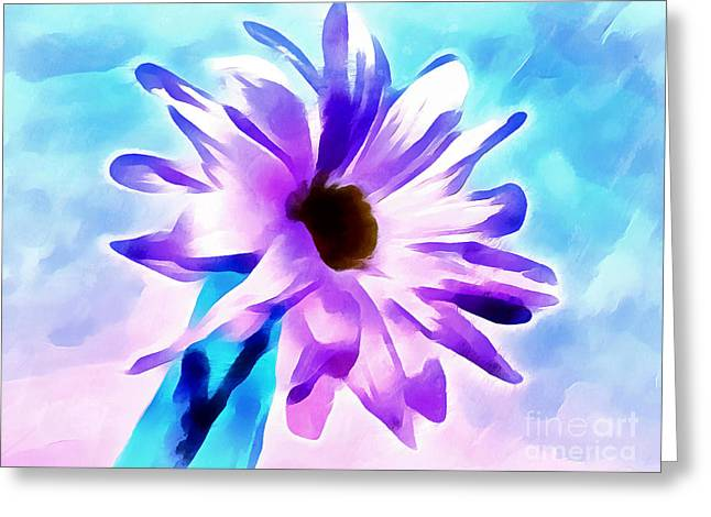 Everyday Is A Gift Greeting Card by Krissy Katsimbras