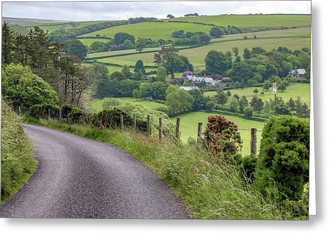 Exmoor - England Greeting Card