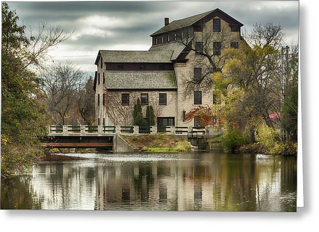 Fall At The Mill Greeting Card by Jeffrey Ewig