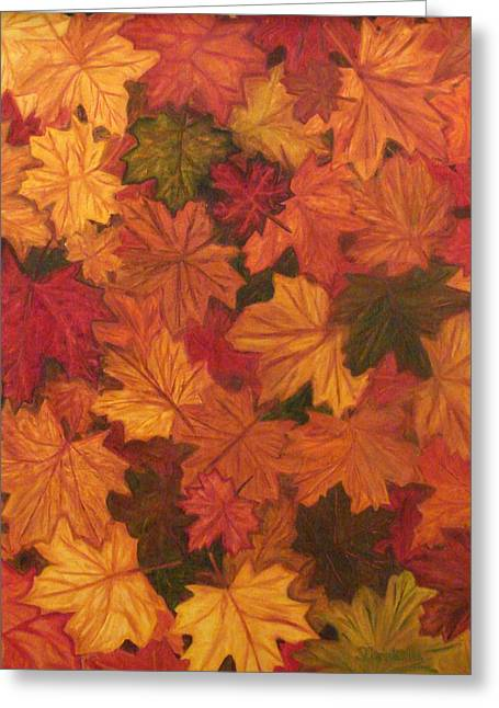 Fall Has Fallen Greeting Card by Shiana Canatella