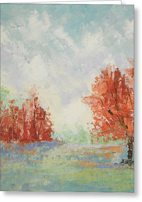 Fall In Provence Greeting Card by Frederic Payet