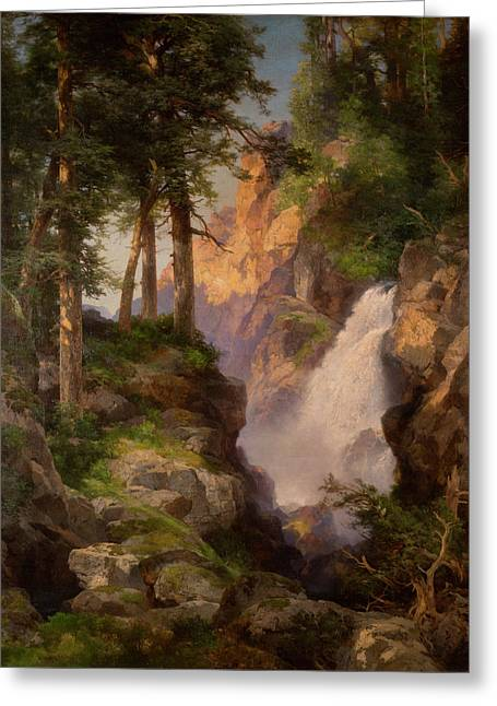 Falls At Toltec Gorge Greeting Card