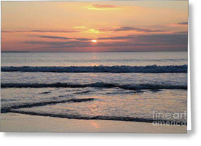 Fanore Sunset 2 Greeting Card