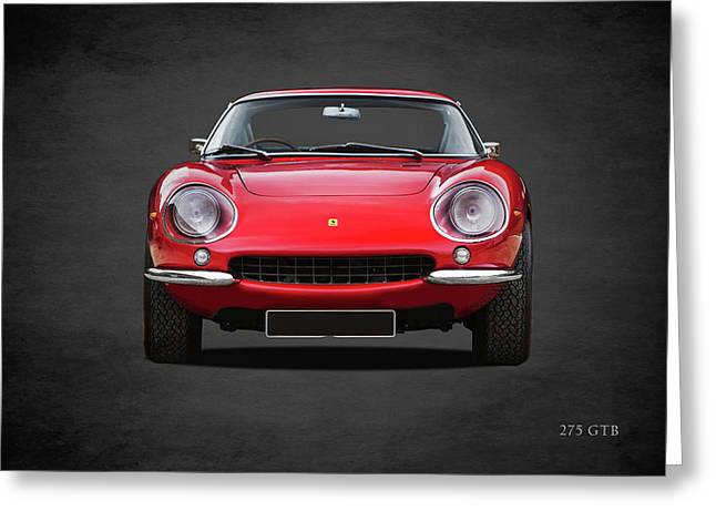 Ferrari 275 Gtb Greeting Card by Mark Rogan