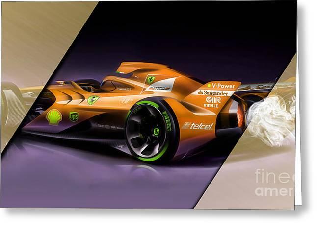 Ferrari F1 Collection Greeting Card