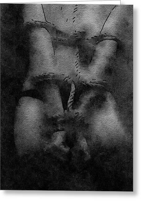Fetish By Mary Bassett Greeting Card