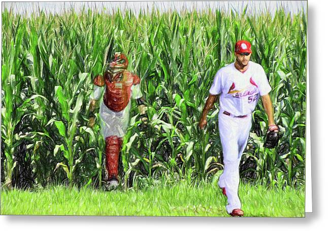Field To Field Greeting Card