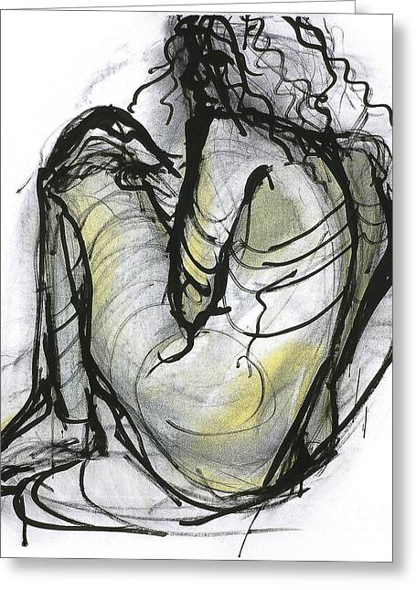 Figure Study Greeting Card