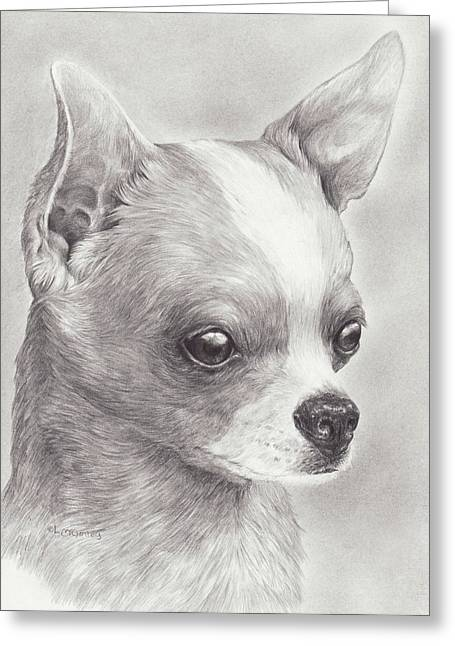 Fine Chihuahua Greeting Card