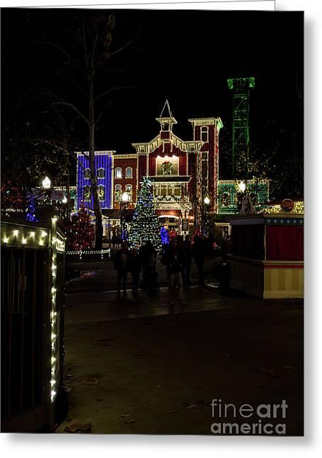 Firemans Landing Christmas Greeting Card by Jennifer White