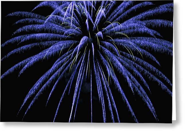 Fireworks Greeting Card by Joe Granita