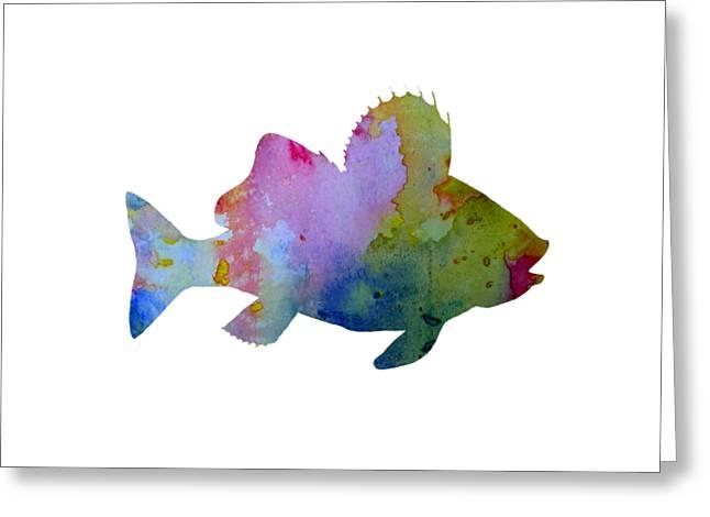 Fish Greeting Card by Mordax Furittus