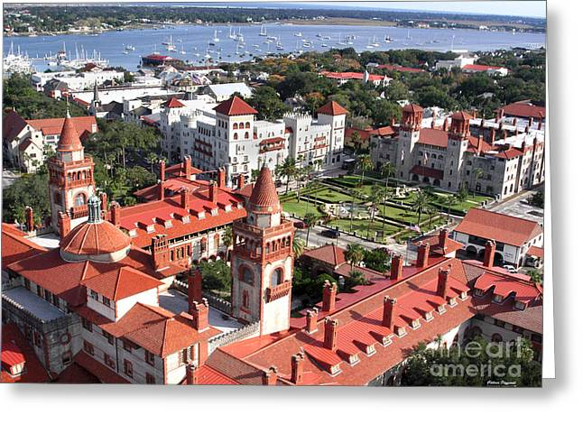 Flagler College Greeting Card by Addison Fitzgerald
