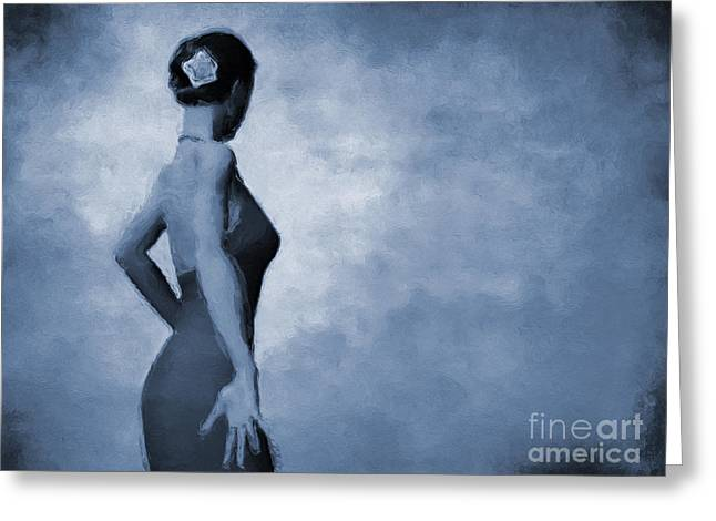Flamenco In C Greeting Card by John Edwards