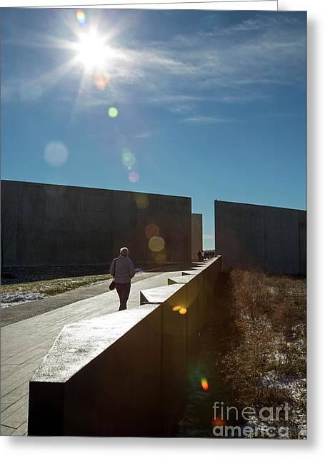 Flight 93 National Memorial Greeting Card by Jim West