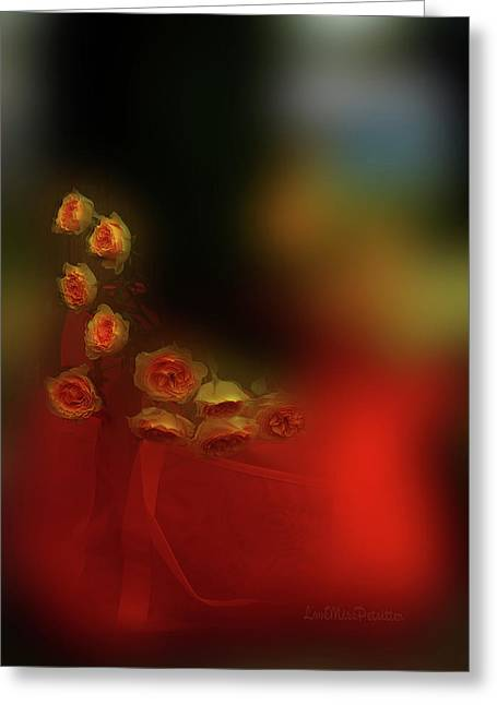 Floral Art 8 Greeting Card