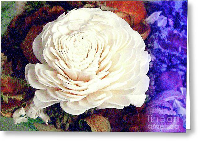 Greeting Card featuring the photograph Floral Potpourri by Merton Allen