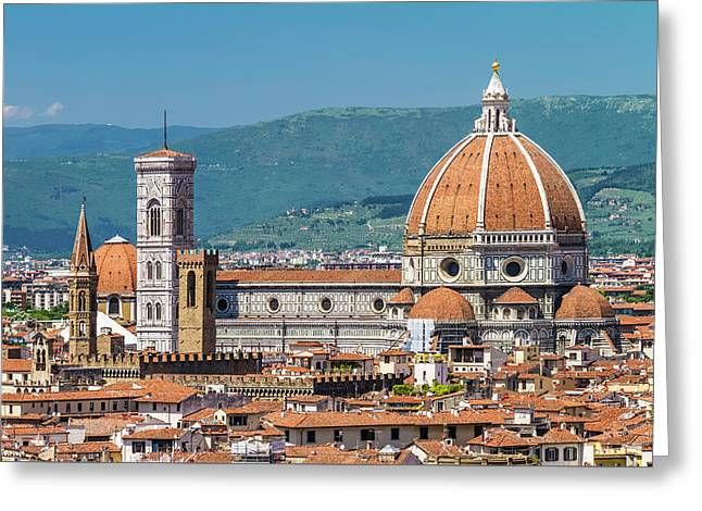 Florence View From Piazzale Michelangelo Greeting Card