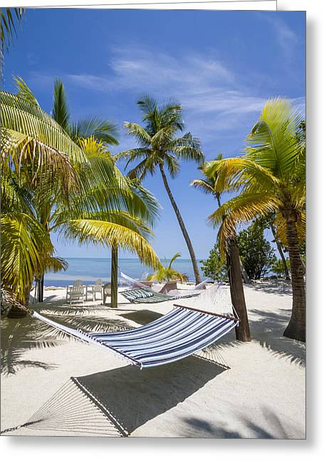 Florida Keys Heavenly Place Greeting Card by Melanie Viola