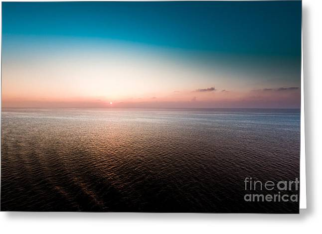 Florida Sunset Greeting Card by Ryan Kelly