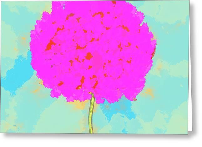 Flower Greeting Card by Skip Nall