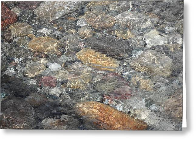 Flowing Stone Greeting Card