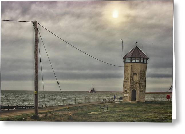 Foggy Morning Greeting Card by Martin Newman