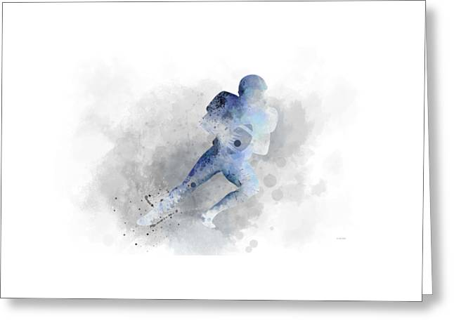 Footballer  Greeting Card