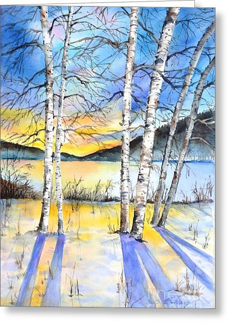 For Love Of Winter #5 Greeting Card