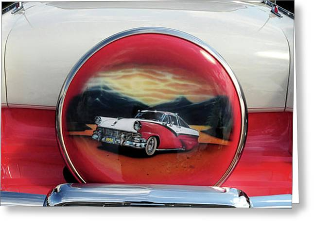 Ford Fairlane Rear Greeting Card