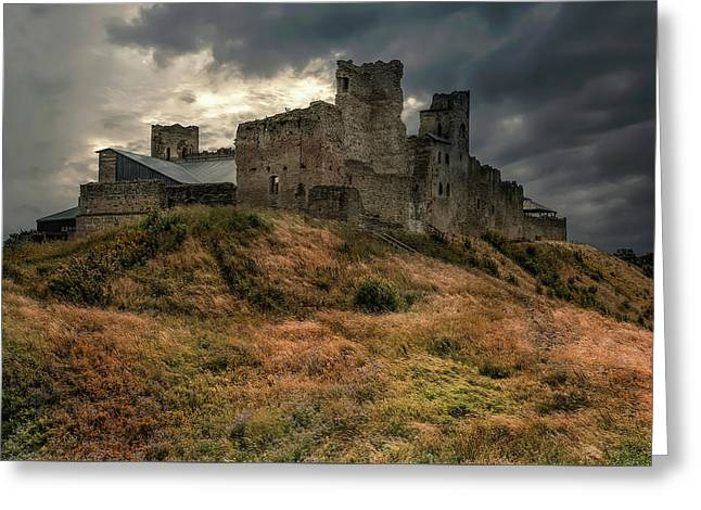 Forgotten Castle Greeting Card