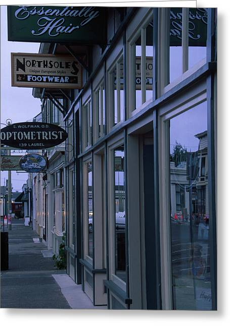 Fort Bragg California Greeting Card by Soli Deo Gloria Wilderness And Wildlife Photography
