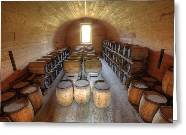 Fort Moultrie Powder Magazine Greeting Card by Dustin K Ryan