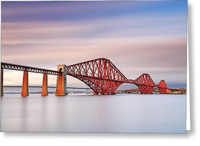 Forth Railway Bridge Greeting Card