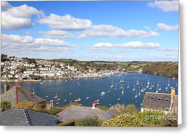 Fowey Greeting Card by Carl Whitfield