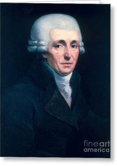 Franz Joseph Haydn, Austrian Composer Greeting Card