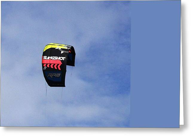 Freedom Kite Boarding Greeting Card