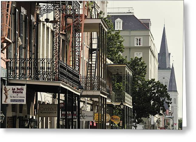 French Quarter Greeting Card by Christian Heeb