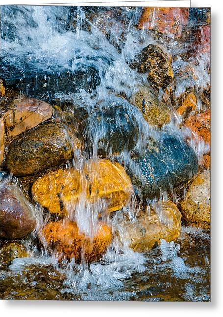 Greeting Card featuring the photograph Fresh Water by Alexander Senin