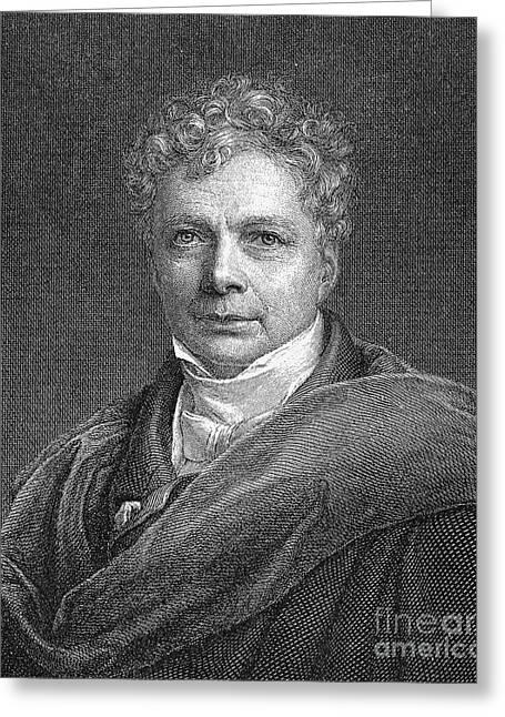 Friedrich W.j. Von Schelling Greeting Card