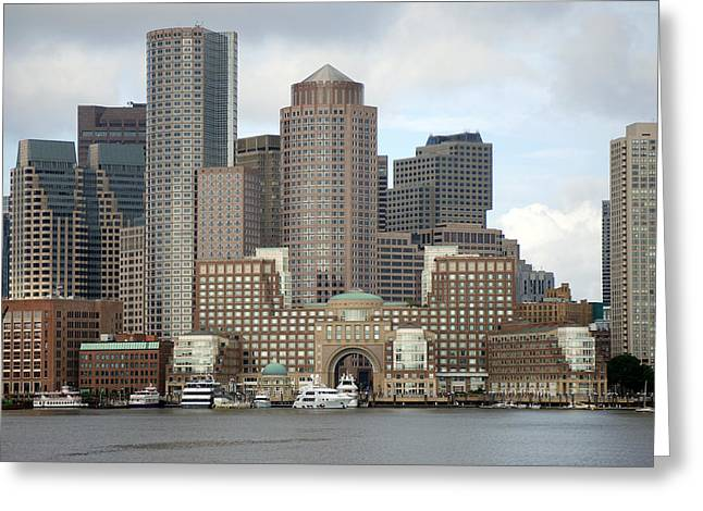 From Boston Harbor Greeting Card
