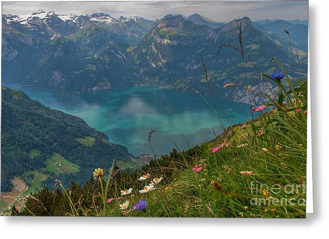 Fronalpstock Greeting Card