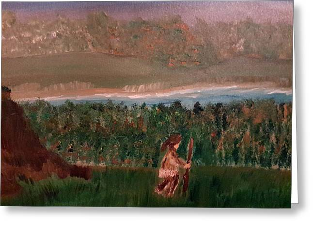 Frontiersman Greeting Card
